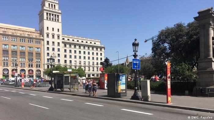 Barcelona, un día después del atentado terrorista.