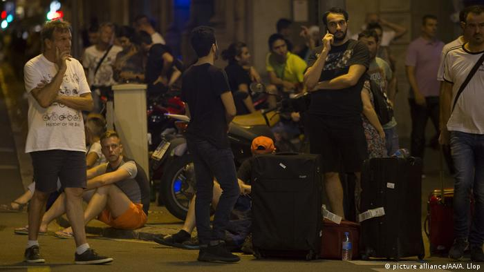 Terroranschlag in Barcelona (picture alliance/AA/A. Llop)