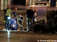 Слідчі на місці нападу в місті Камбрілс у Каталонії