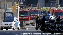 Barcelona Las Ramblas Polizei