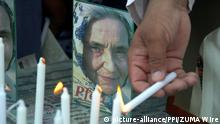 Pakistan Staatsbegräbnis für Deutsche Ruth Pfau (picture-alliance/PPI/ZUMA Wire)