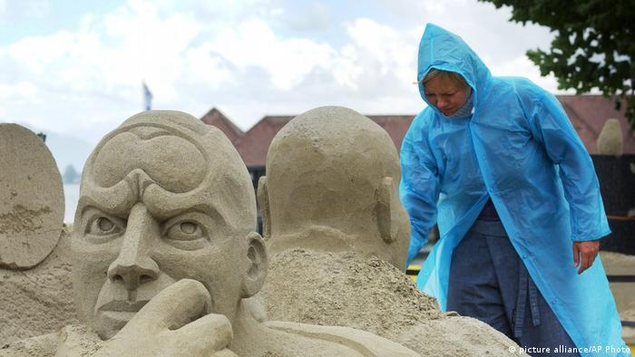 Sandskulpturenfestival in Rorschach (picture alliance/AP Photo)