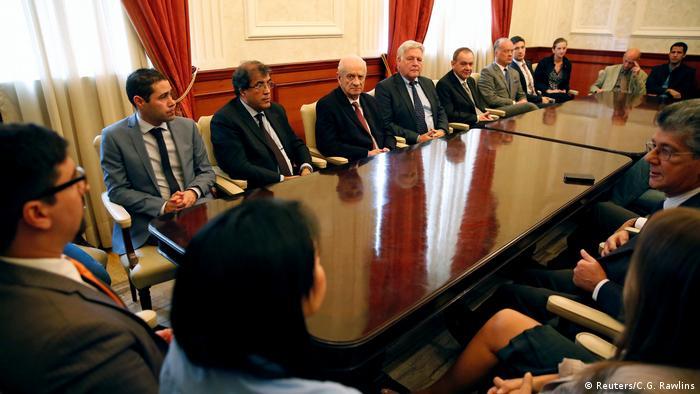 Órgão legislativo da Venezuela reuniu-se na presença de diplomatas estrangeiros convidados