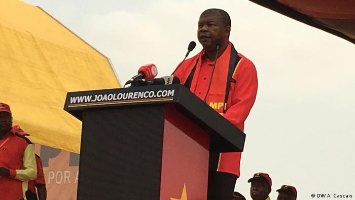 Angola MPLA Wahlkampagne Jose Eduardo dos Santo