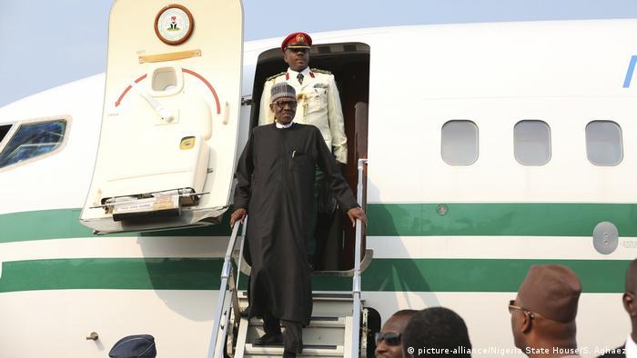 Nigeria Präsident Buhari Rückkehr