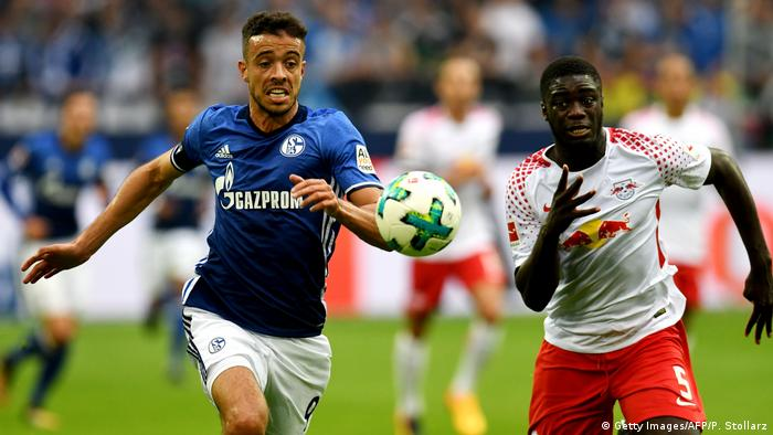 Bundesliga Schalke Leipzig di Santo