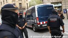 Spanien Ripoll Verhaftung Verdächtige Polizei