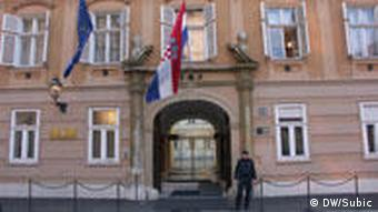 Zgrada vlade u Zagrebu