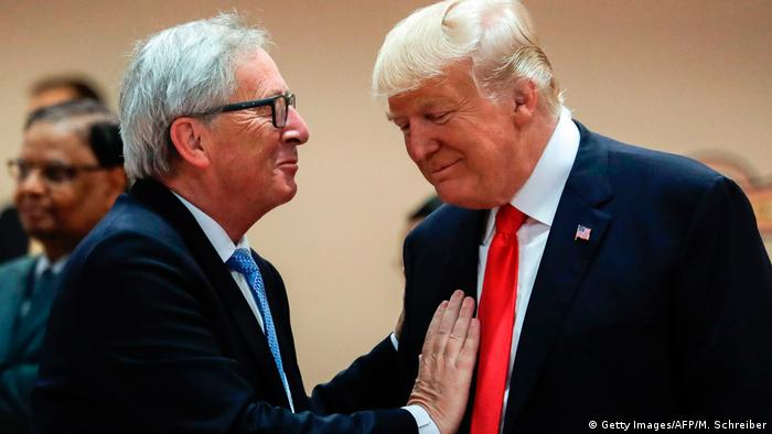 Jean-Claude Juncker and Donald Trump (Getty Images/AFP/M. Schreiber)