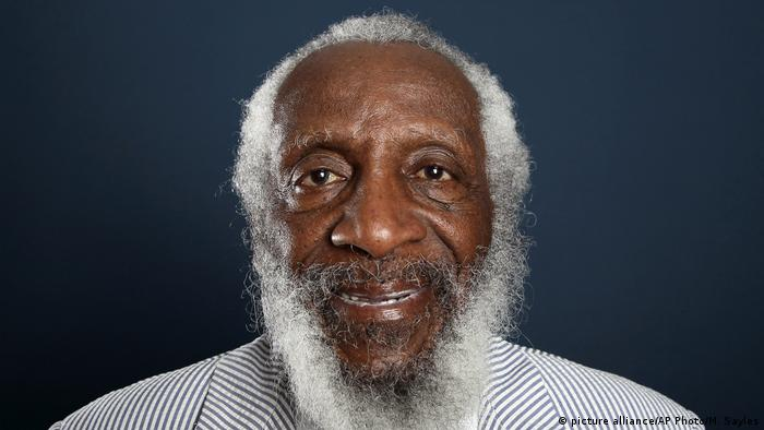 Dick Gregory (picture alliance/AP Photo/M. Sayles)