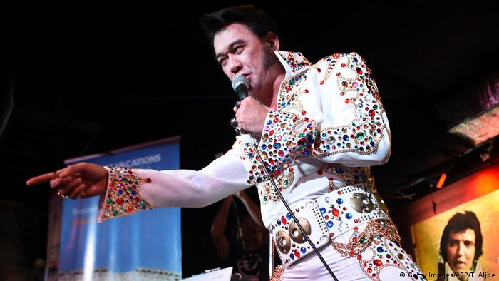 Philippinen Elvis-Contest in Makita - Jun Espinosa (Getty Images/AFP/T. Aljbe)