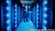 Deutschland Mistral Supercomputer in Hamburg