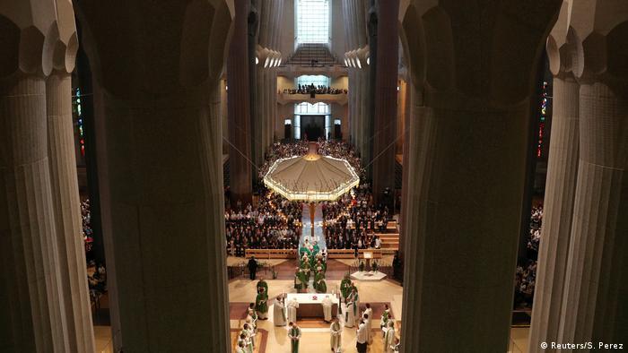 Spanien Trauergottesdienst in Sagrada Familia in Barcelona (Reuters/S. Perez)