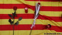 Spanien Las Ramblas in Barcelona