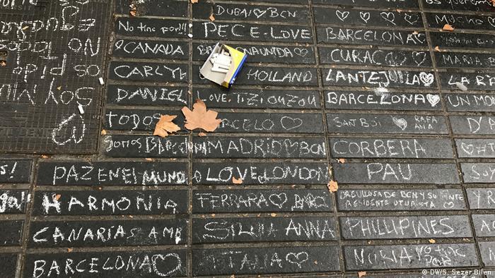 Spanien Las Ramblas in Barcelona (DW/S. Sezer Bilen)