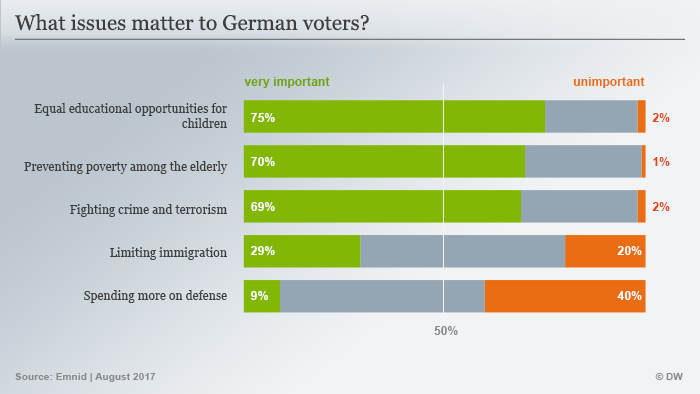 Infografik What issues matter to German voters ENG