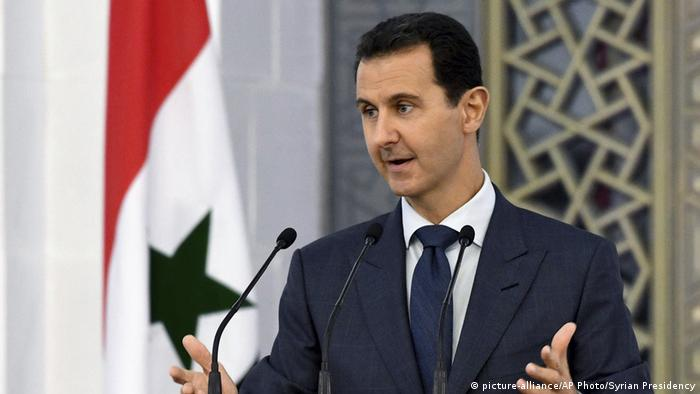 Syrian President Bashar al-Assad (picture-alliance/AP Photo/Syrian Presidency)