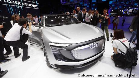 Audi e-tron Sportback Concept (picture-alliance/Imaginechina/B. Kelin)