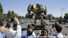 Giant Fighting Robots (picture-alliance/AP Photo/Eric Risberg)