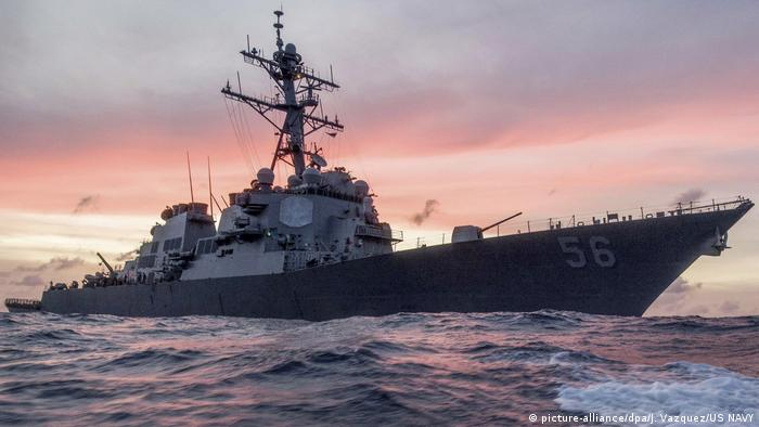 USS John S. McCain (picture-alliance/dpa/J. Vazquez/US NAVY)