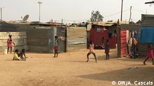 Bewohner von Zango 1, Luanda, Angola
