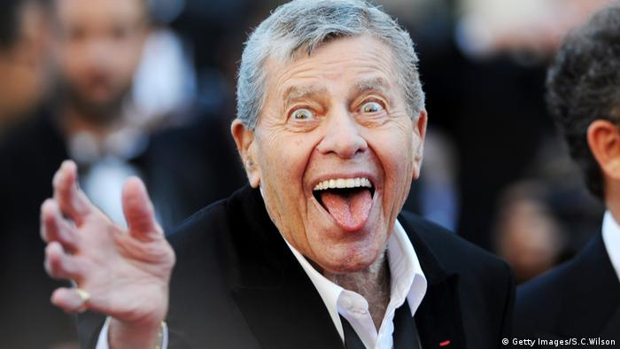 Jerry Lewis in Cannes 2013 (Getty Images/S.C.Wilson)