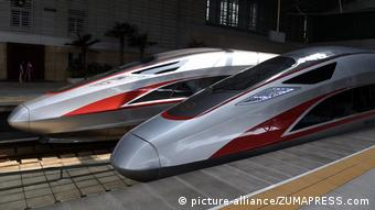 China Hochgeschwindigkeitszug Fuxing