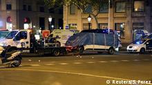 Spanien Tatfahrzeug nach Terroranschlag in Barcelona