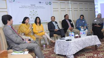 "DW Akademie - Farzana Ali spricht beim Abschlusspanel The Role of Government, Media and Citizens for Enhanced Access to Information and Public Participation"" am 16. August in Islamabad"