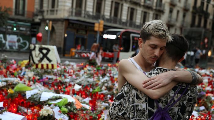 Spanien Trauer Las Ramblas Barcelona (Reuters/S. Vera)