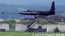 Südkorea Militärmanöver U.S. Air Force U-2 Dragon Lady
