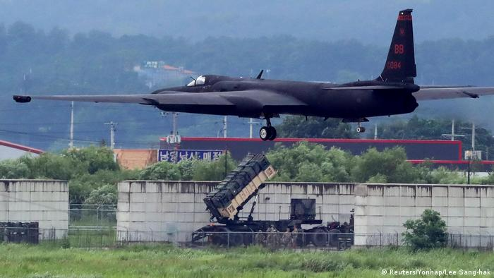 Südkorea Militärmanöver U.S. Air Force U-2 Dragon Lady (Reuters/Yonhap/Lee Sang-hak)