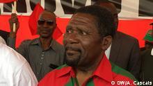 21.08.2017 UNITA-Führer Isaías Samakuva beendet die Wahlkampagne der größten Oppositionspartei in Angola (21.08.2917) in Cazenga, in der Hauptstadt Luanda.