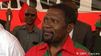 Rocha Pinto & CazengaAngola Luanda - UNITA - Ende des Wahlkampfs