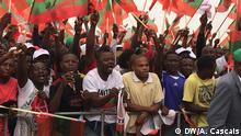 Angola Luanda - UNITA - Ende des Wahlkampfs