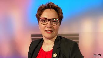 DW Quadriga - Olga Gulina (Migrationsforscherin, Leiterin des Instituts für Migrationspolitik (Berlin) (DW)