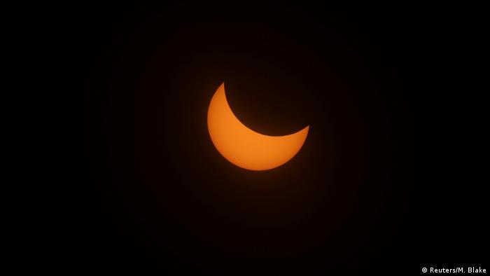 USA | Sonnenfinsternis (Reuters/M. Blake)