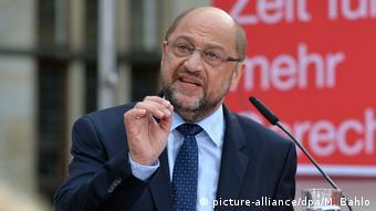 Bremen Marin Schulz Beginn Wahlkampftour (picture-alliance/dpa/M. Bahlo)