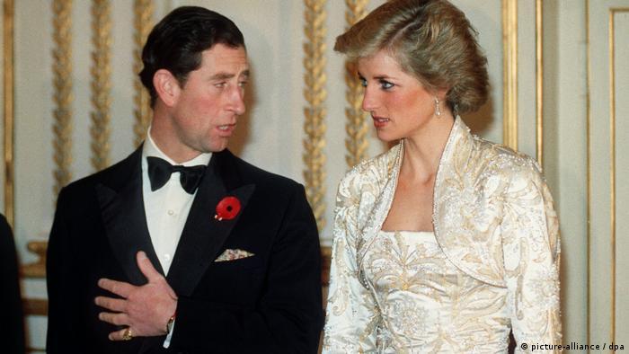 Paris Charles und Diana im Gespräch miteinander (picture-alliance / dpa)