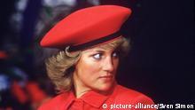 Lady Diana Portrait mit Hut