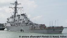 Singapur Kollision USS John S. McCain