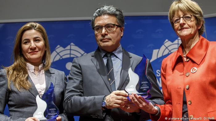 Schweiz Genf Women's Rights Award (picture-alliance/epa/S. Di Nolfi)