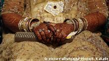 Indien Muslimische Hochzeit