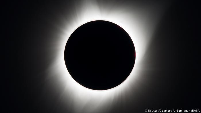 USA Sonnenfinsternis (Reuters/Courtesy A. Gemignani/NASA)
