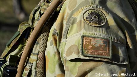 Australien Soldat Symbolbild (Getty Images/I. Hitchcock)
