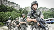 Südkorea Militärmanöver (picture-alliance/dpa/YNA)