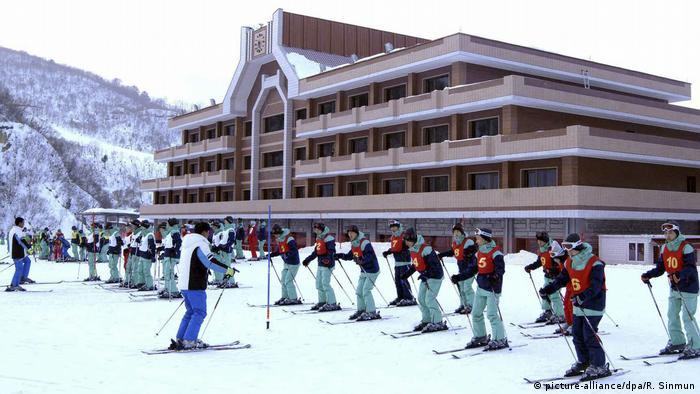 Nordkorea Masikryong Ski Resort (picture-alliance/dpa/R. Sinmun)