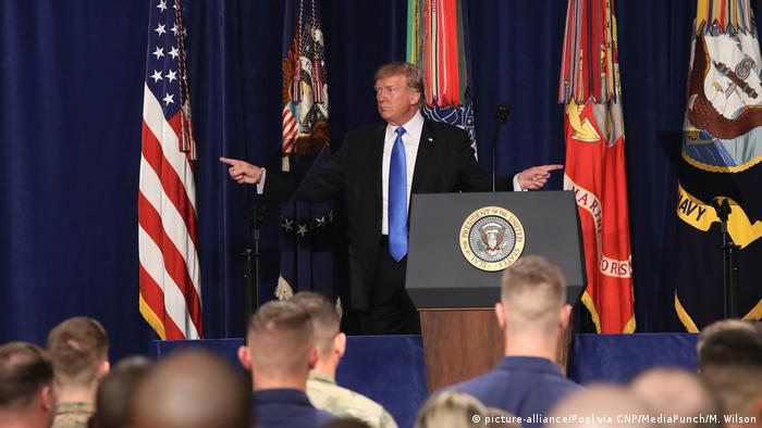 USA Fort Myer Trump Rede Afghanistan Strategie