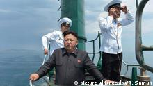North Korean leader Kim Jong Un (picture-alliance/dpa/R. Sinmun)
