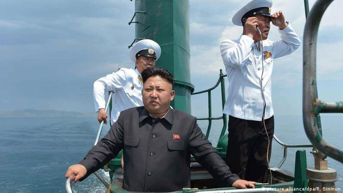 Images suggest North Korea's 'aggressive' work on ballistic missile submarine: institute